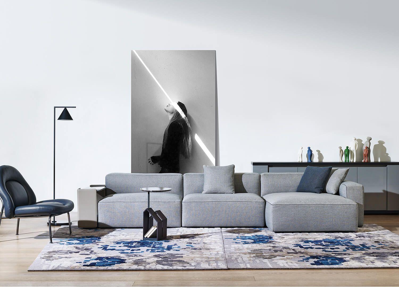 Rubix Sofa By Camerich For Henri Living Est Living Design Directory Contemporary Furniture Stores Contemporary Modern Furniture Contemporary Home Furniture