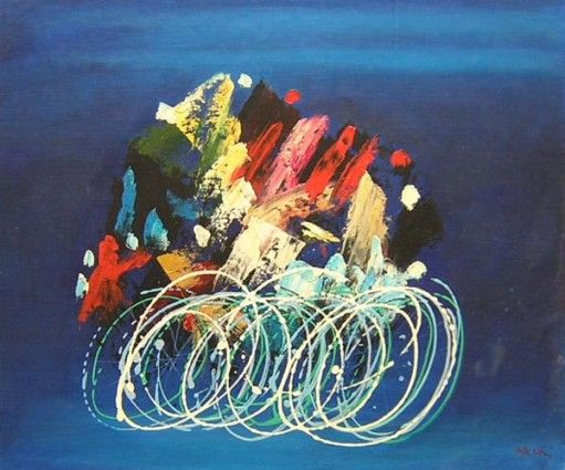 Modern Art Amp Abstract Canvaspainting4less Bike Drawings