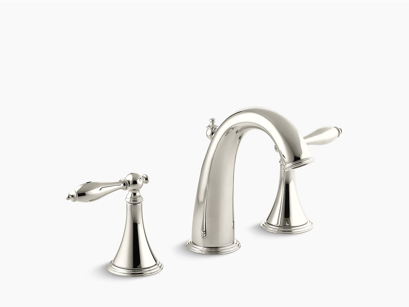 K 310 4m Finial Traditional Widespread Sink Faucet Kohler Sink Faucets Faucet Bathroom Sink Faucets [ jpg ]