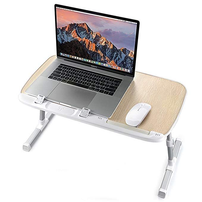 Laptop Desk For Bed Taotronics Foldable Laptop Table Height Adjustable Lap Desk Portable Bed Desk Lap Laptop Table For Bed Adjustable Laptop Table Lap Desk