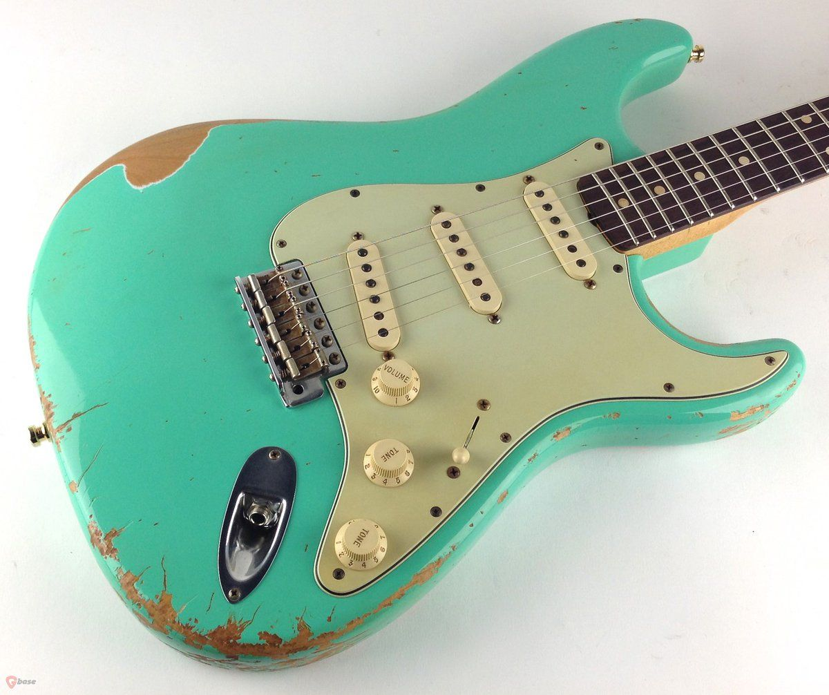 2008 Fender® 1960 Custom Shop Heavy Relic® Stratocaster® Limited