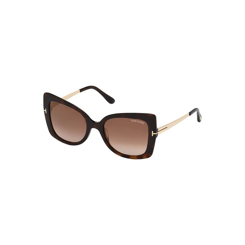 88541ab341 Gafas de Sol Tom Ford FT0609 GIANNA Dark Havana - Brown Shaded (52G ...