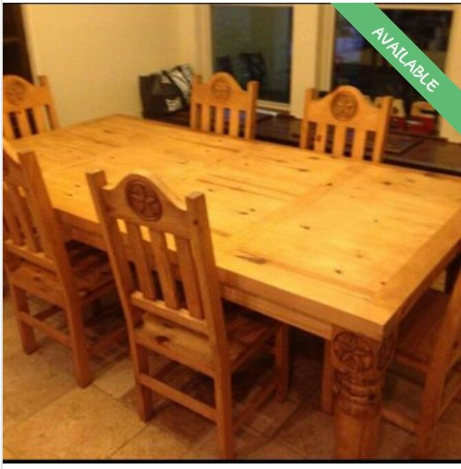 Texas Star Kitchen Table Dining Table Rustic Living Table
