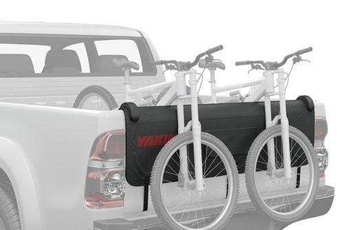 yakima gatekeeper tailgate pad and bike