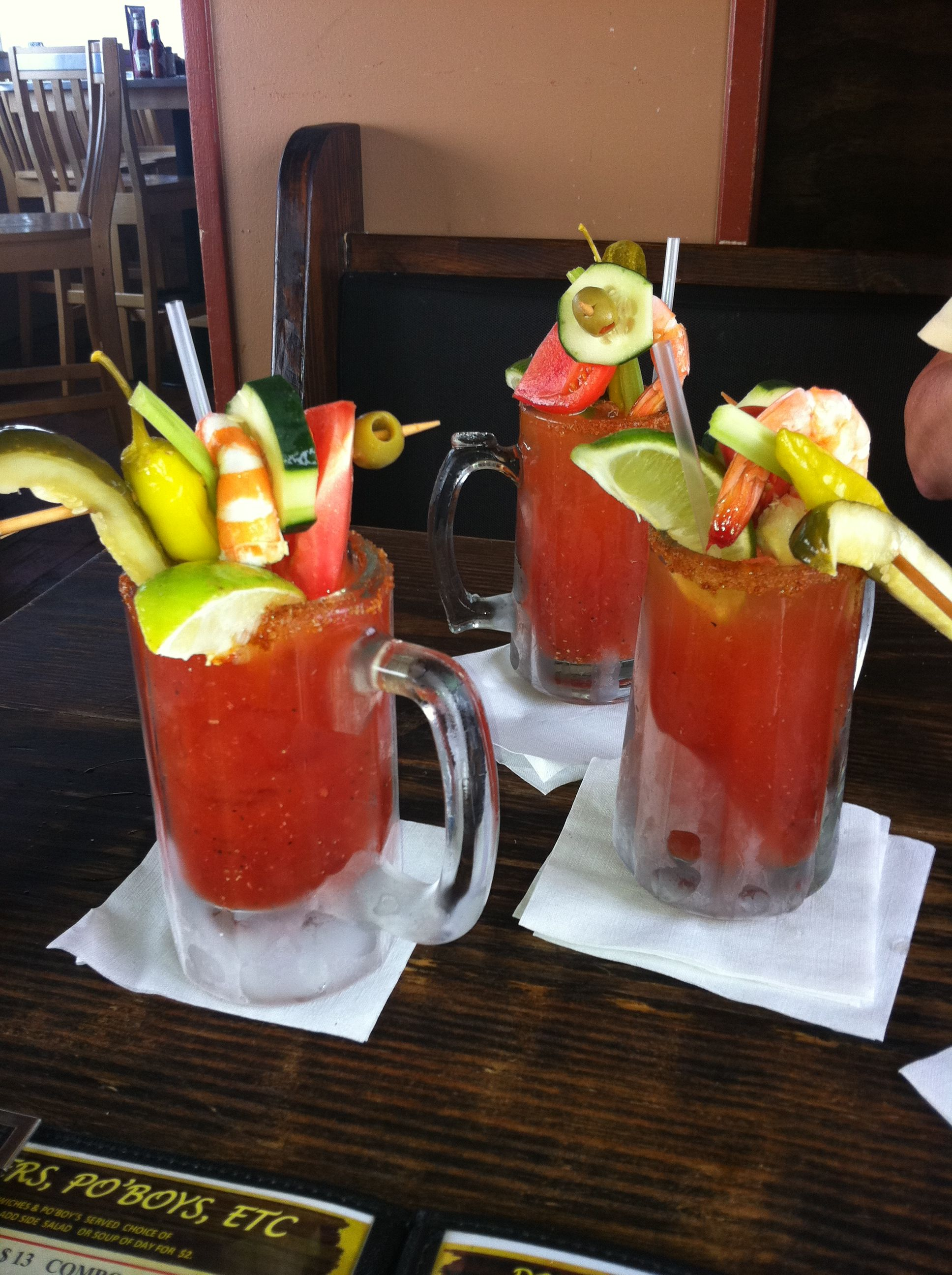 Best Bloody Marys Ever Pier 19 In South Padre Drinks