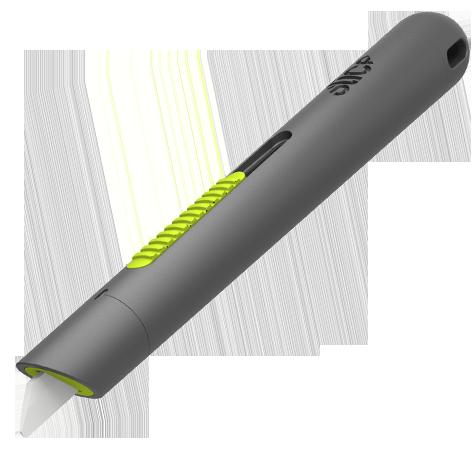 Auto Retractable Pen Cutter Ceramic Blade Pen Design Industrial Design