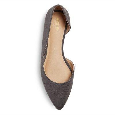 Womens Mossimo Supply Co Mohana Flats Solid Black