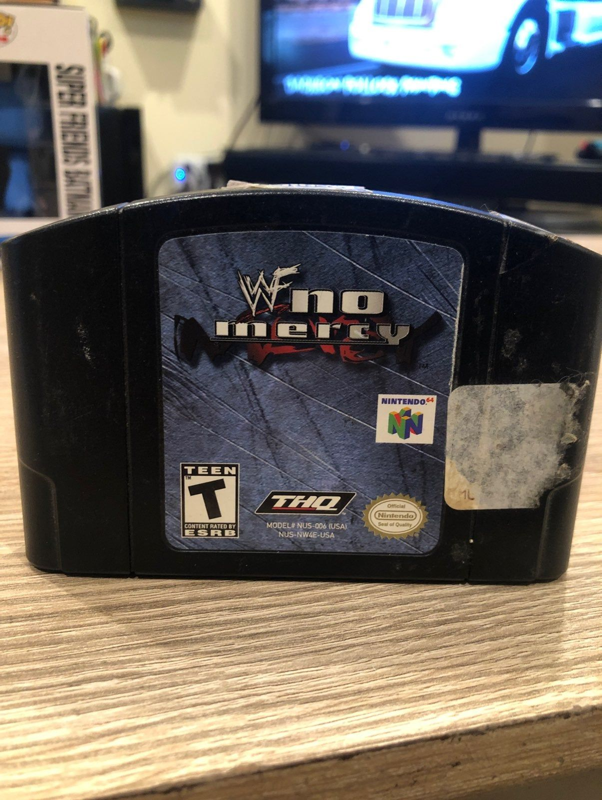 Wwf No Mercy Nintendo 64 Working Game Working Games Video Games