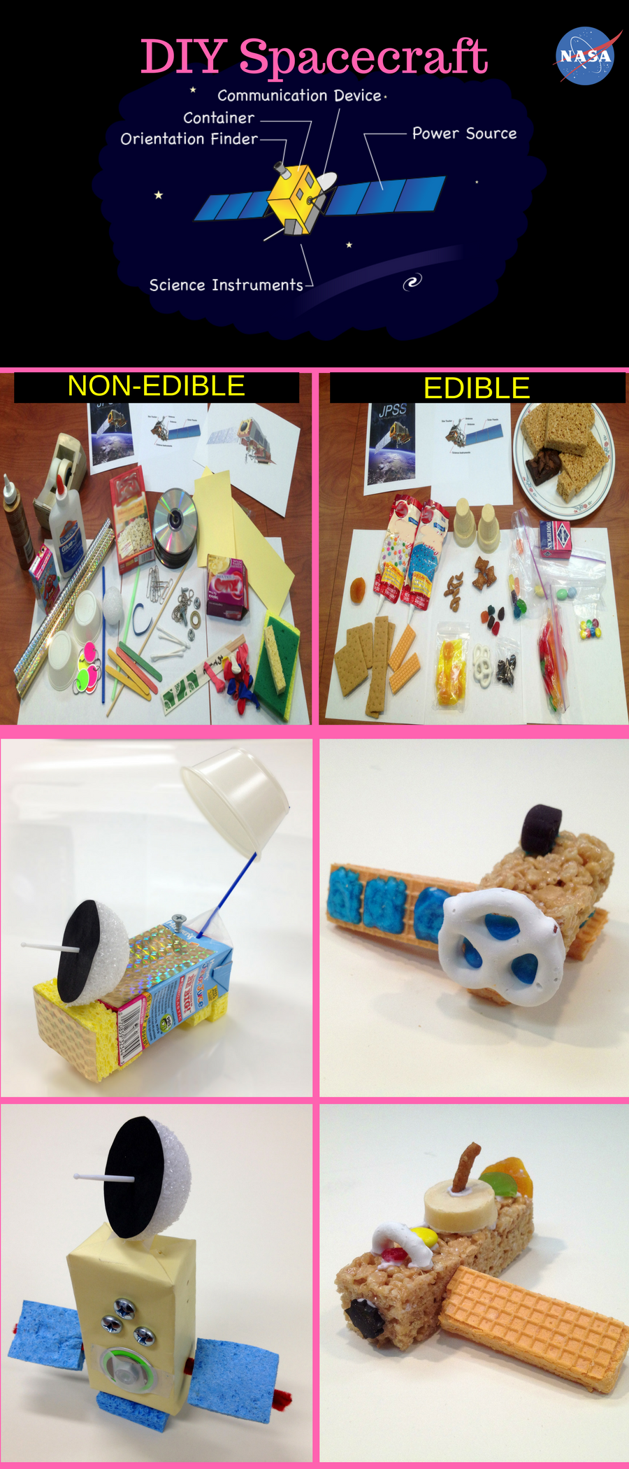 Build Your Own Spacecraft Grades 3 8 Use Your Engineering Skills To Desi Space Activities For Kids Elementary Science Activities Elementary Stem Activities
