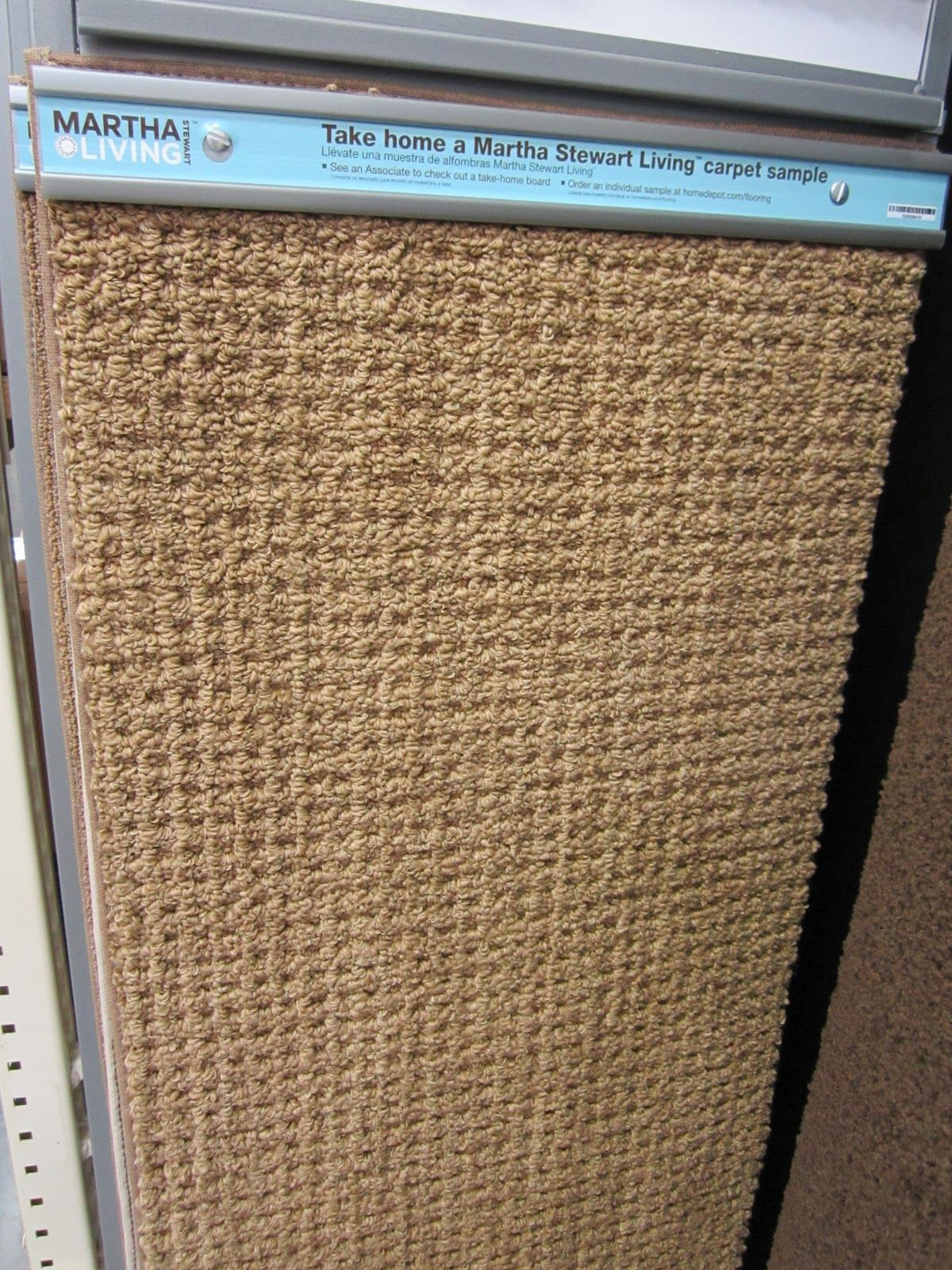 oop carpet at Home Depot. It's by Martha Stewart called ...