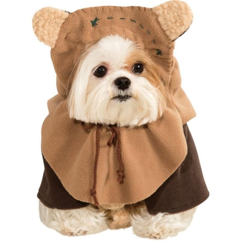 Details About Ewok Star Wars Pet Costume Dog Movie Treadmill Cute