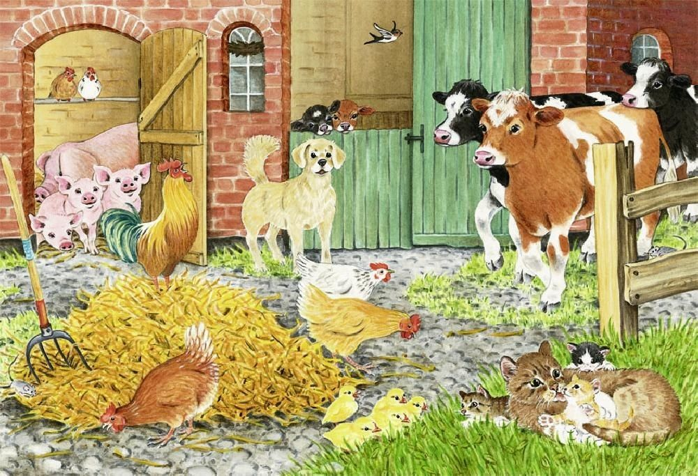 Хоздвор для домашних животных картинка