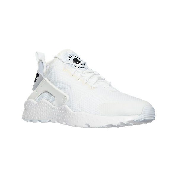 new product b6478 bb60e Nike Women s Air Huarache Run Ultra Running Shoes ( 115) ❤ liked on Polyvore  featuring shoes, athletic shoes, white, white rubber shoes, nike athletic  ...