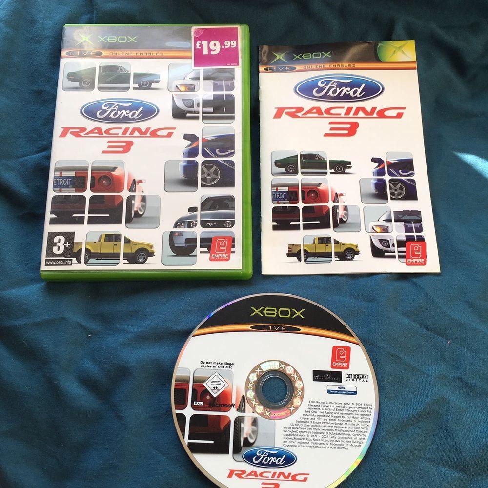 Ford Racing 3 Microsoft Xbox 2005 Us Version Ebay Racing