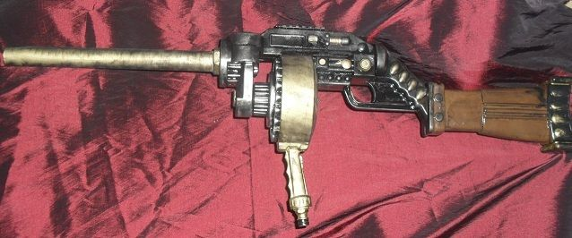 Steampunk Tommy gun