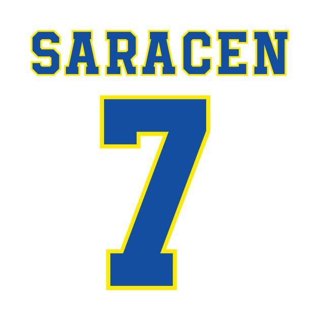 MATT SARACEN DILLON PANTHERS JERSEY on  TeePublic! Saracen f7fe703a78da