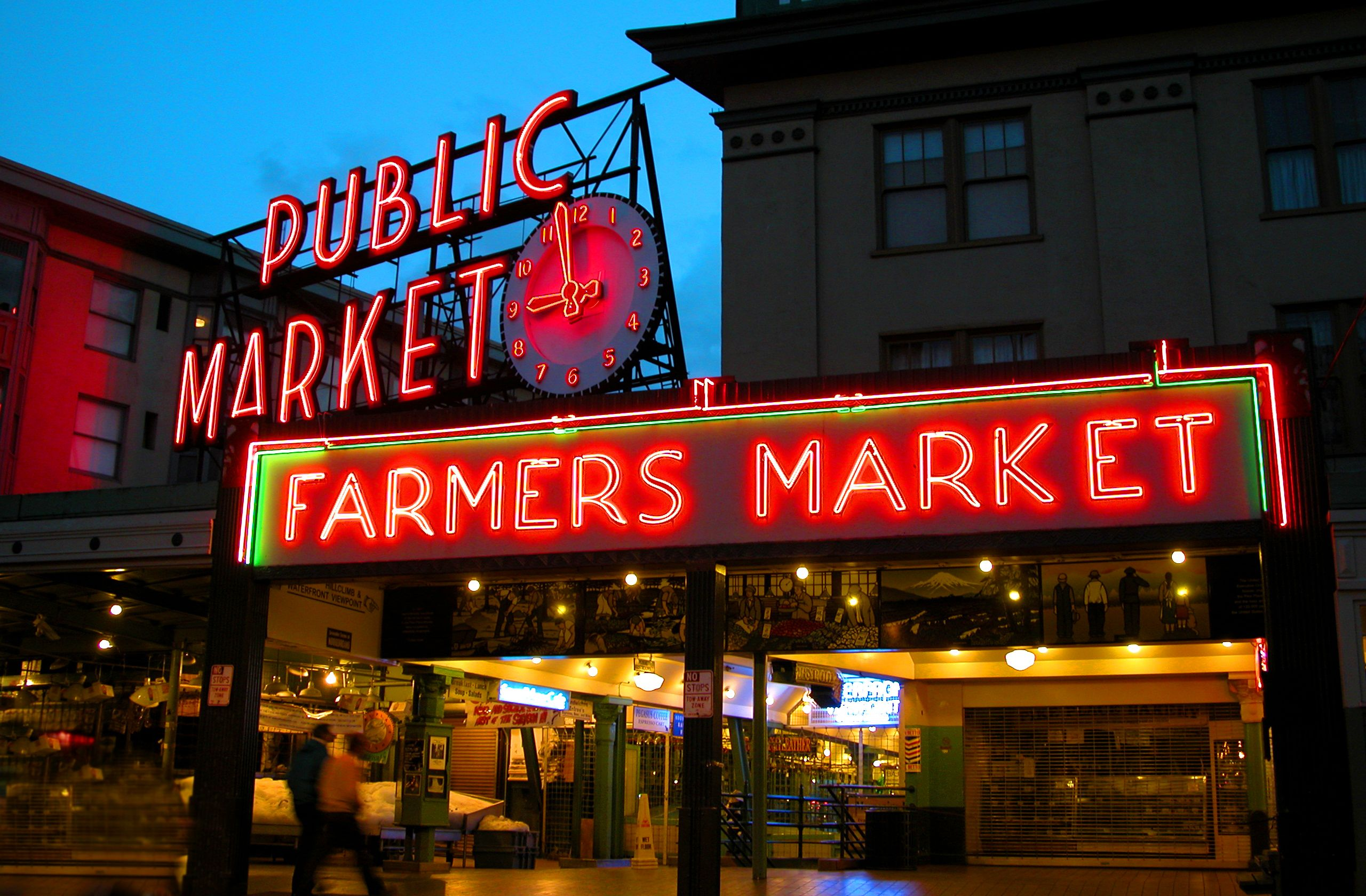 Seattle S Pike Place Market Part L