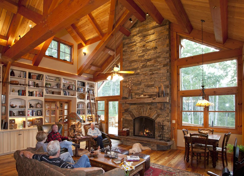 Texas Timber Frames - Galleries :. Timber Trusses, Frame House Plans ...