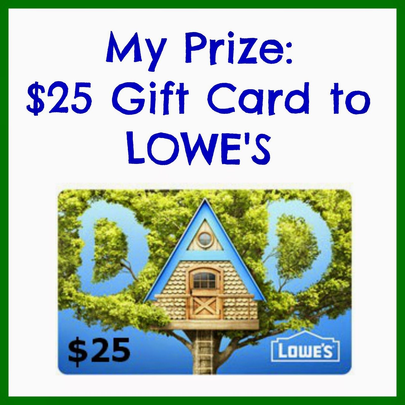 Giveaway center fathers day giveaway gift card