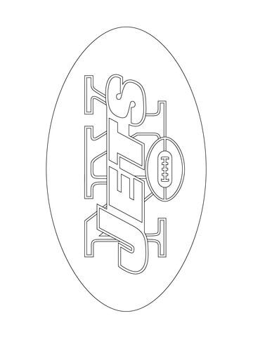 Free Coloring Pages Printable Books New York Giants Logo