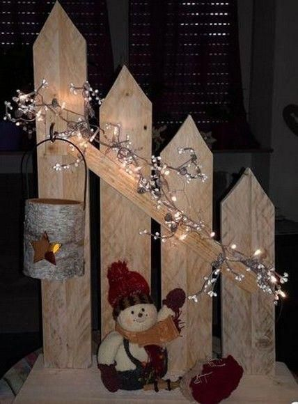 20 Creative Wooden Christmas Decor Ideas And Inspirations 12 Christmasdecordiy Wooden Christmas Crafts Christmas Diy Christmas Crafts