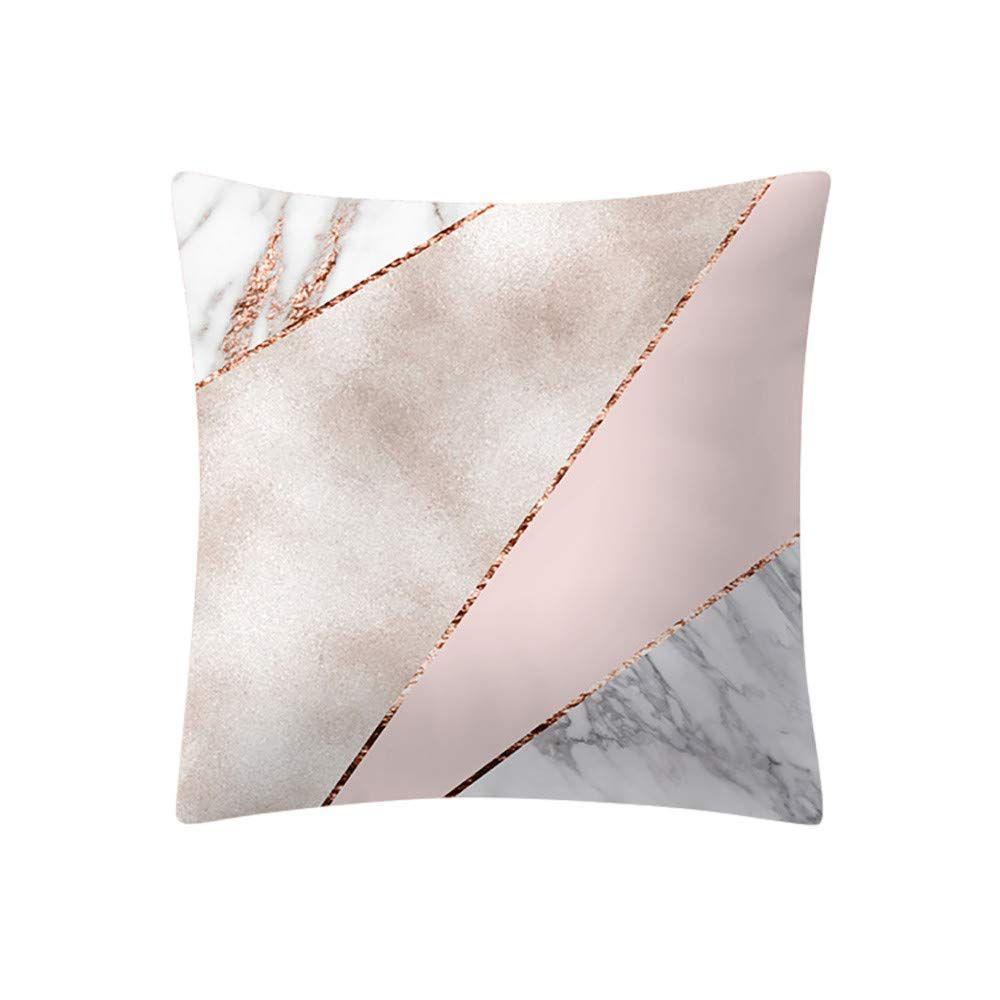 Cuscini Fashion.Amazonsmile Liping 17 7x17 7in 45x45cm Fashion Rose Gold Pink