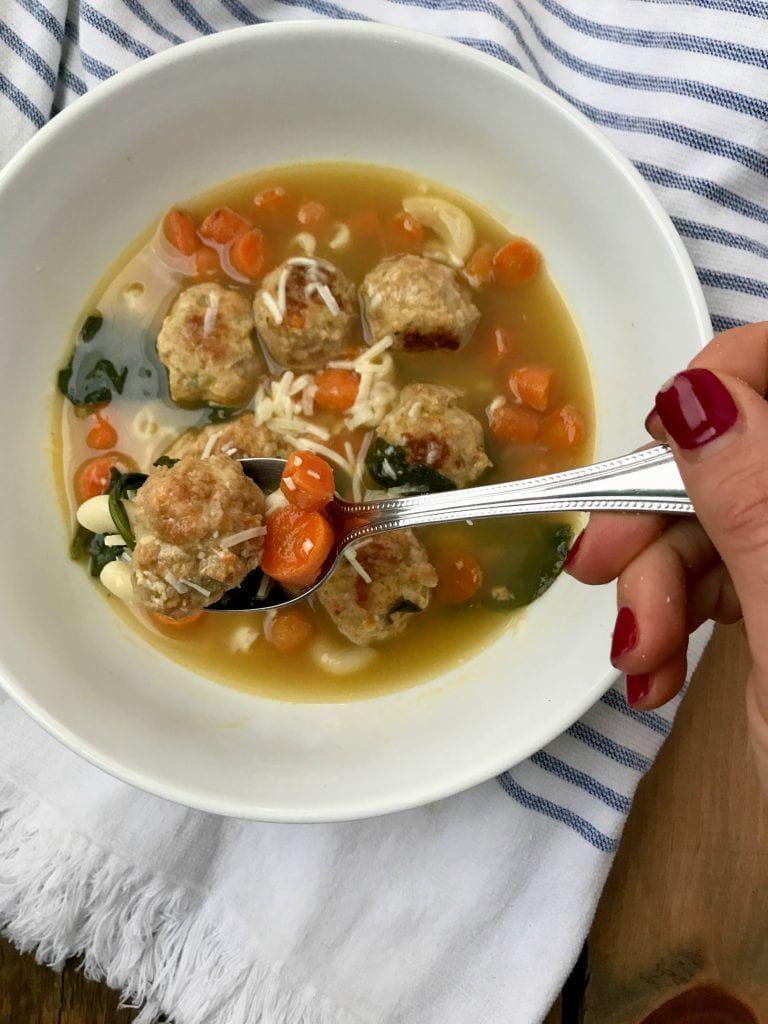 21 Day Fix Italian Wedding Soup (Instant Pot/Crock Pot