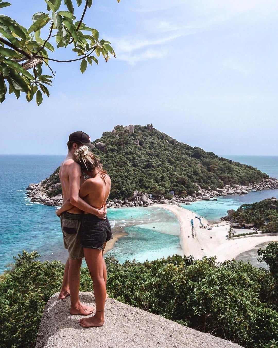 Nang Yuan Island Koh Tao Viewpoint Thailand – South East Asia – Wanderers & Warriors Charlie & Lauren UK Travel – Climbing – Couple Goals – I love you…