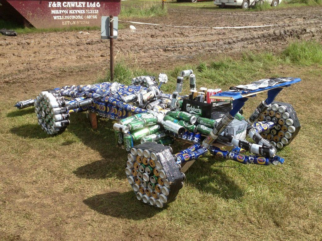 Beer Can Car No Drinking And Driving But This Is A Cool F Racing - Cool fun cars