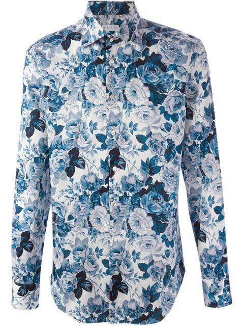 6b39ccadc0 ETRO rose print shirt.  etro  cloth  shirt