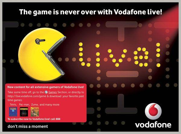Vodafone Live Games Ad Time Games Com Games Vodafone