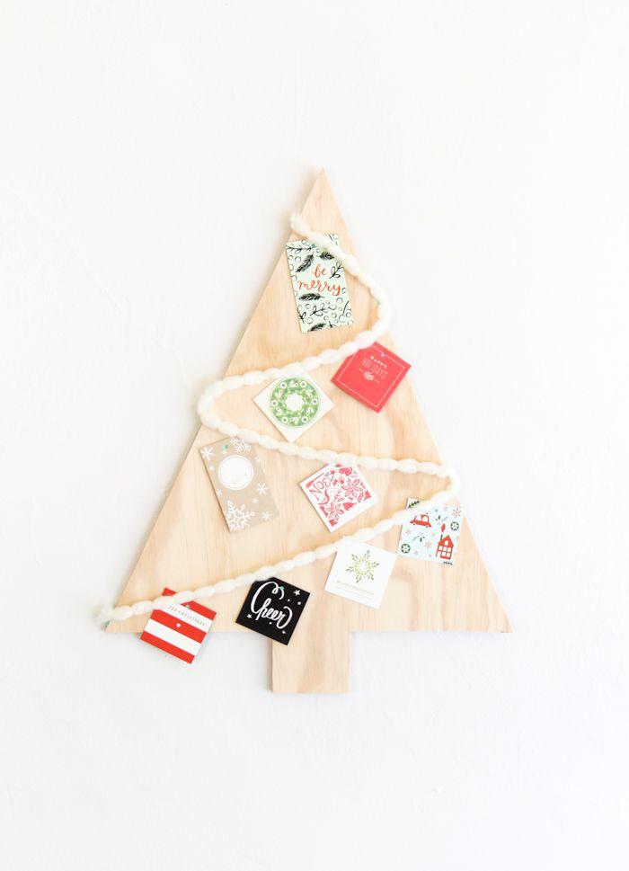 10 Alternative Christmas Trees Plywood, Christmas tree and Holidays