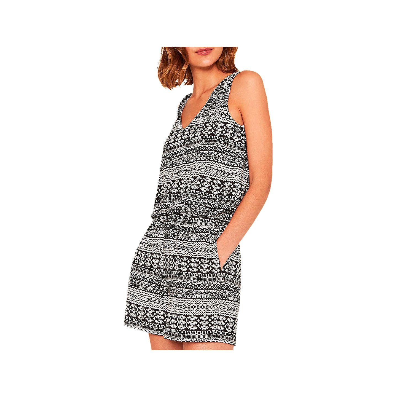 2de525763797 Oasis Tribal Print Playsuit, Black/White | Clothes | Black playsuit ...