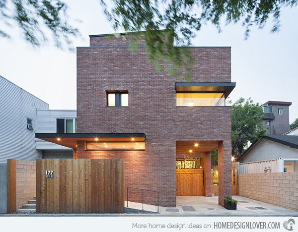 Korea Home Design Classy A Minimalist Brick House In Hyojadong South Korea  Bricks