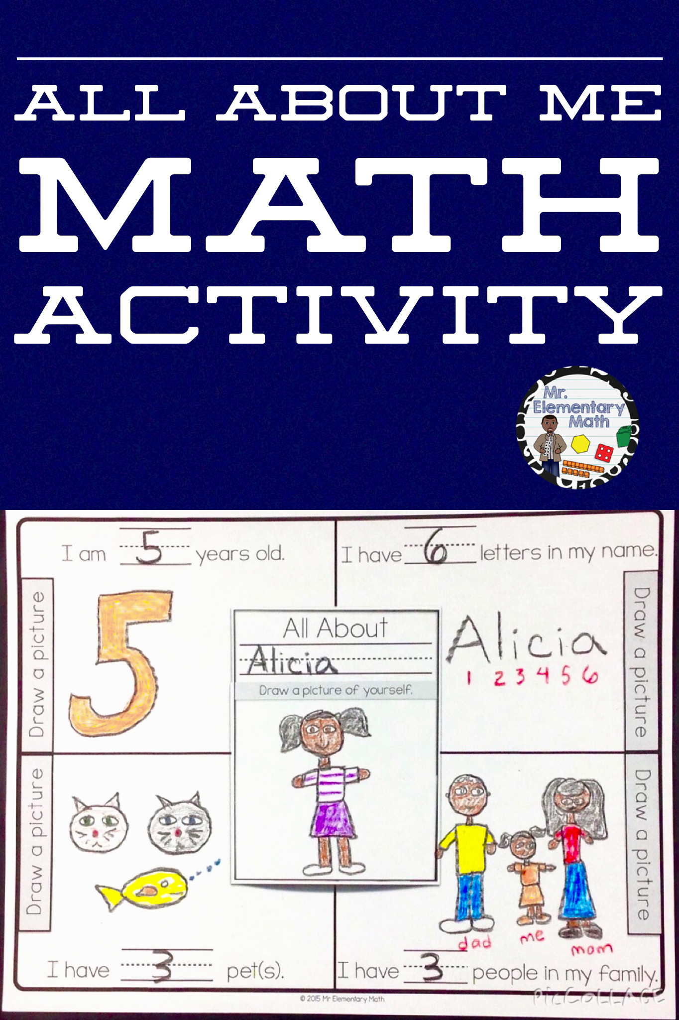 Do You Need A Fun Back To School Activity For Your Kindergarten Or 1st Grade Students Try This