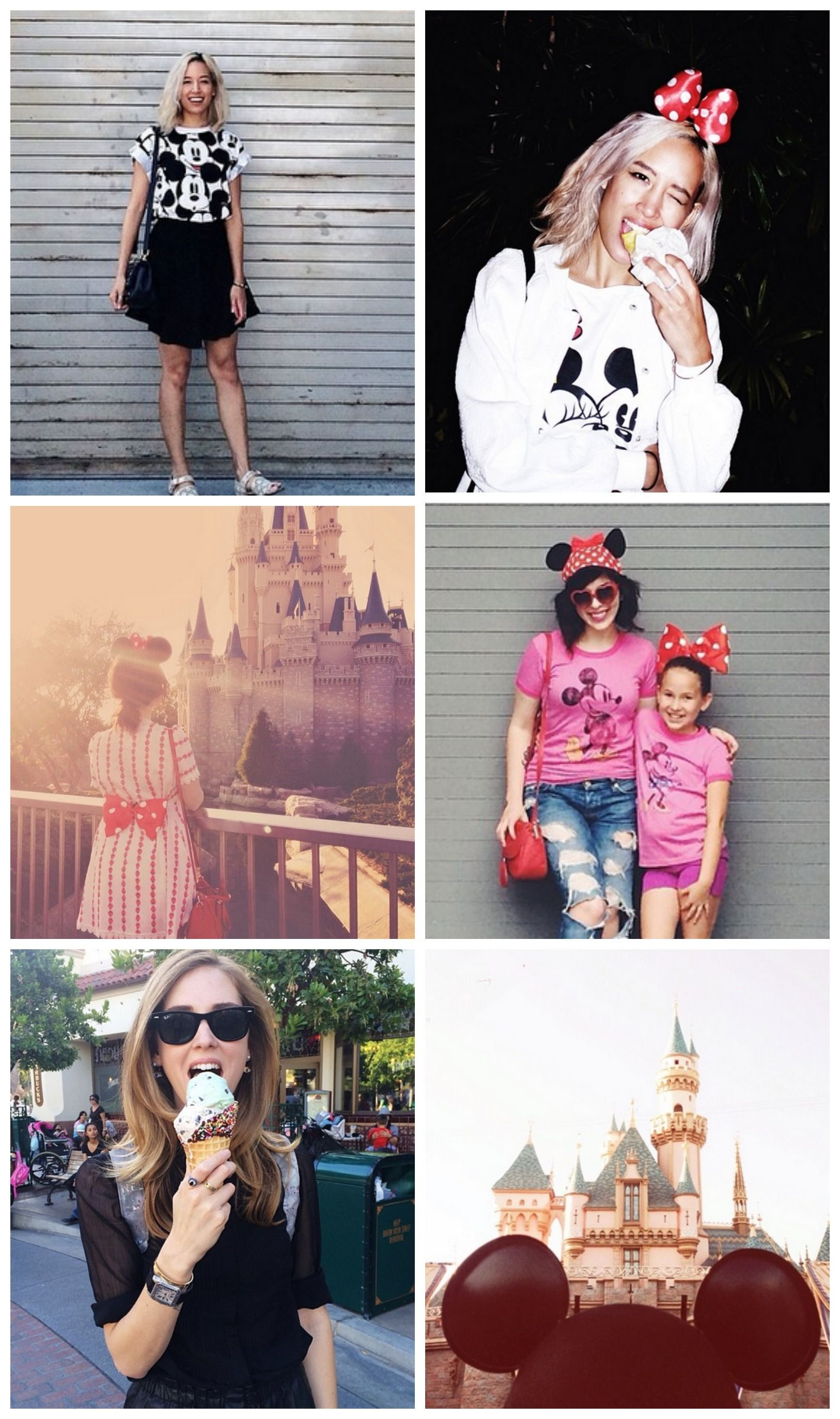 Our favorite fashion bloggers show off their Disney style.