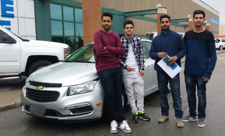 Congratulations To Prabhjot With His Purchase Of A 2015 Chevrolet