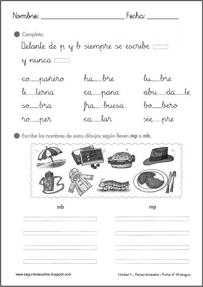 M Antes De P Y B Ejercicios Buscar Con Google Normas Ortograficas Lectura Y Escritura Actividades De Enseñanza