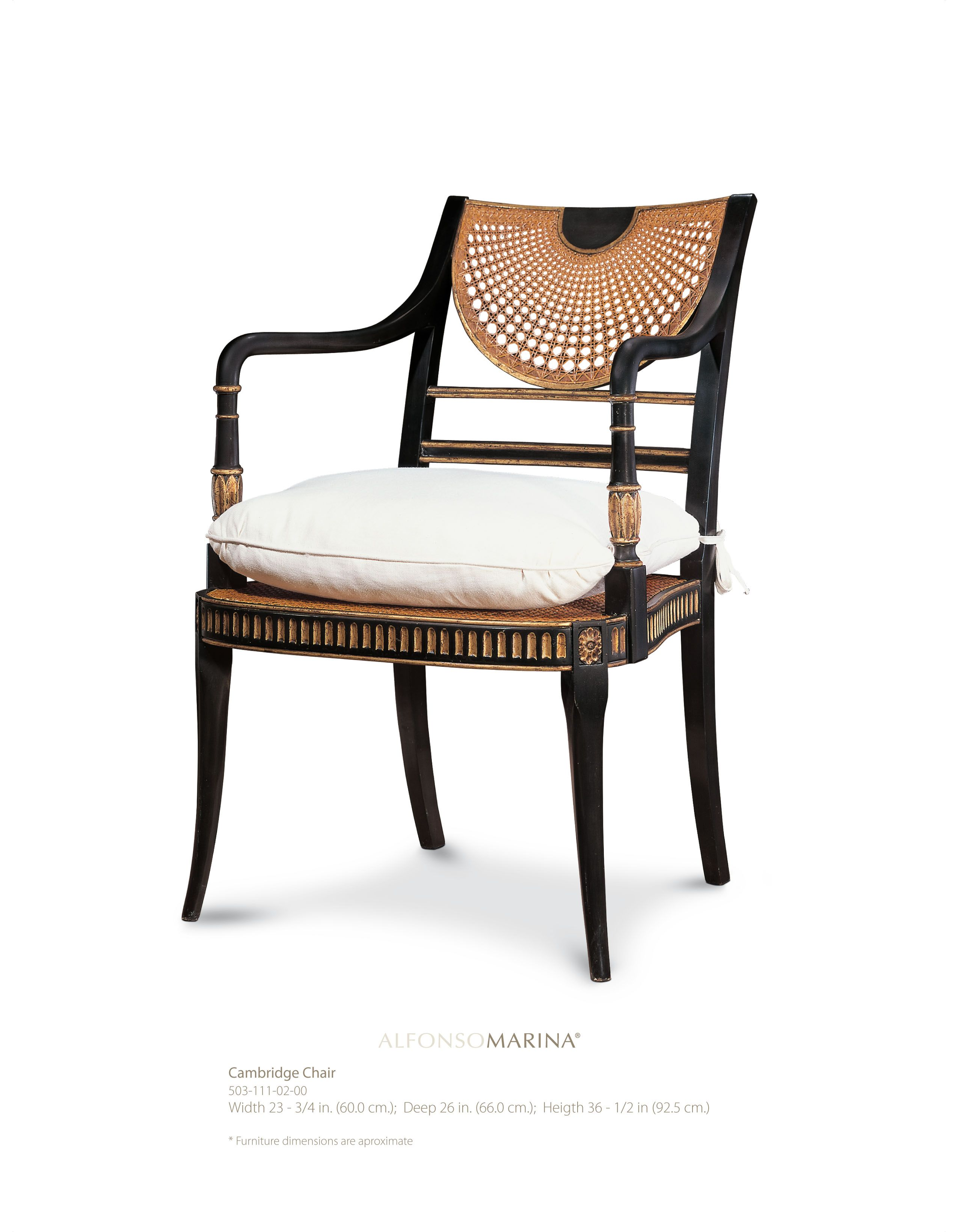 Cambridge Chair by Alfonso Marina Ebanista | Deco | Pinterest