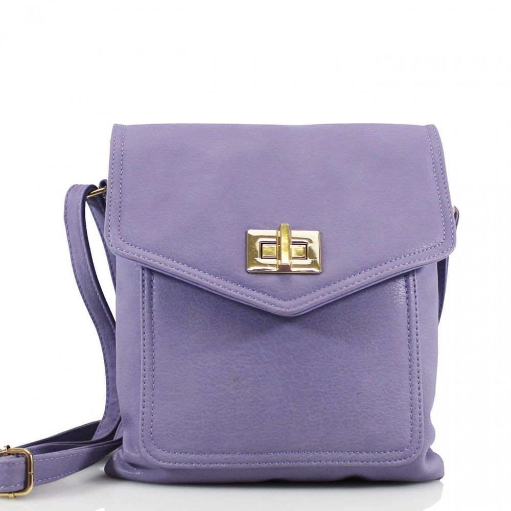 393d50cc3f Ladies Girls Purple Synthetic Crossbody Bag Messenger Shoulder Handbag   Clicktostyle  MessengerCrossBody