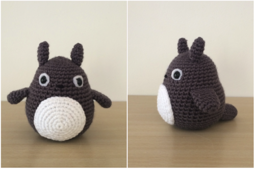 Amigurumi Totoro Receita : Receita original stitches amigorumi totoro