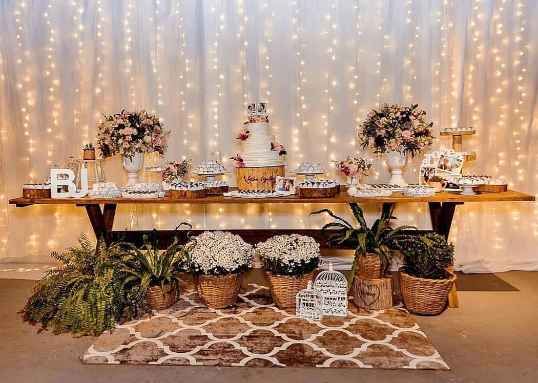 15 dicas de decoração de casamento rústico para se inspirar