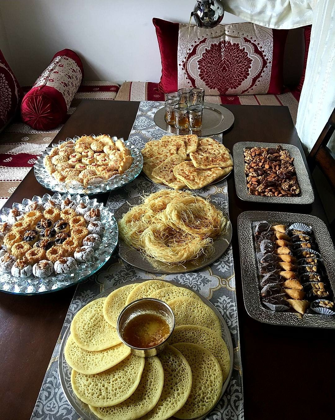 Table Ramadan Marocaine Table Marocaine Snapchat In 2019 Moroccan Cuisine Moroccan