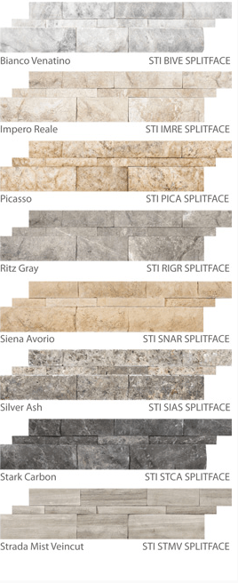 Split Face Ledger Stone Tile Outlet Chicago