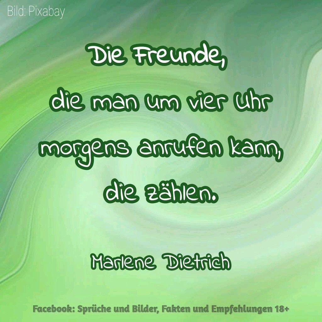 Freunde auf die man zählen kann .. Ein Zitat von Marlene Dietrich