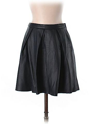 Gap Women Leather Skirt Size 0