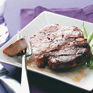Grilled Pork Chops Recipe  http://www.stockpilingmoms.com/2012/06/grilled-pork-chops-recipe/