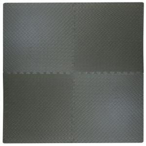 Trafficmaster Black Diamond Plate 24 In X 24 In Square