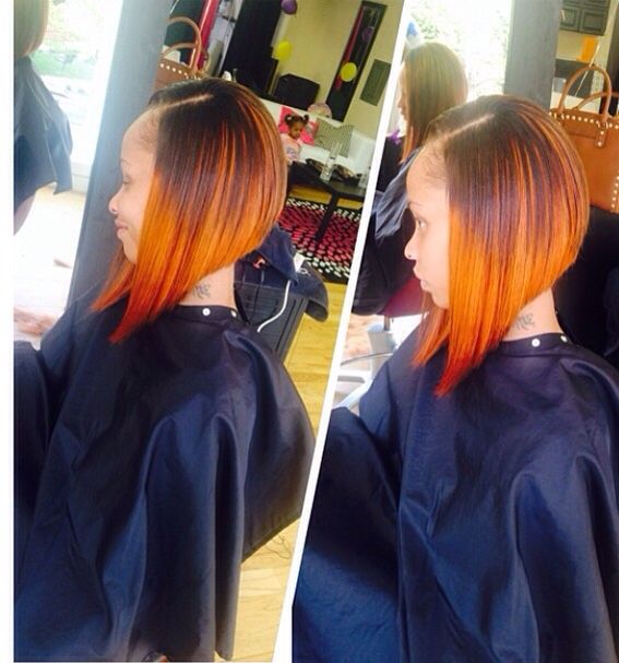 Sew-In ,Bob Hair Cut ,Weave  Pink & Black Hair Studio  11e Chesapeake Ave  Towson,Md  Like Us on FB/IG  Pink and Black Hair Studio