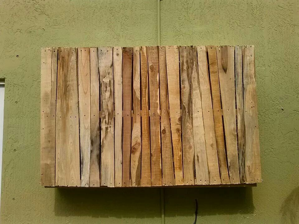 Patio Tv Stand Made Of Pallets